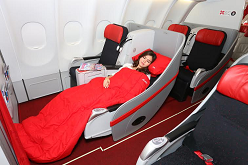 <strong><i>The wake me when we arrive seat....</i></strong>...to Taipei from $565.
