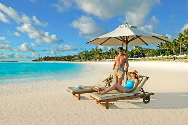 Honeymoon or holiday? An island beach, with some pearls or perhaps a gold ring in a package awaits you. Book today!