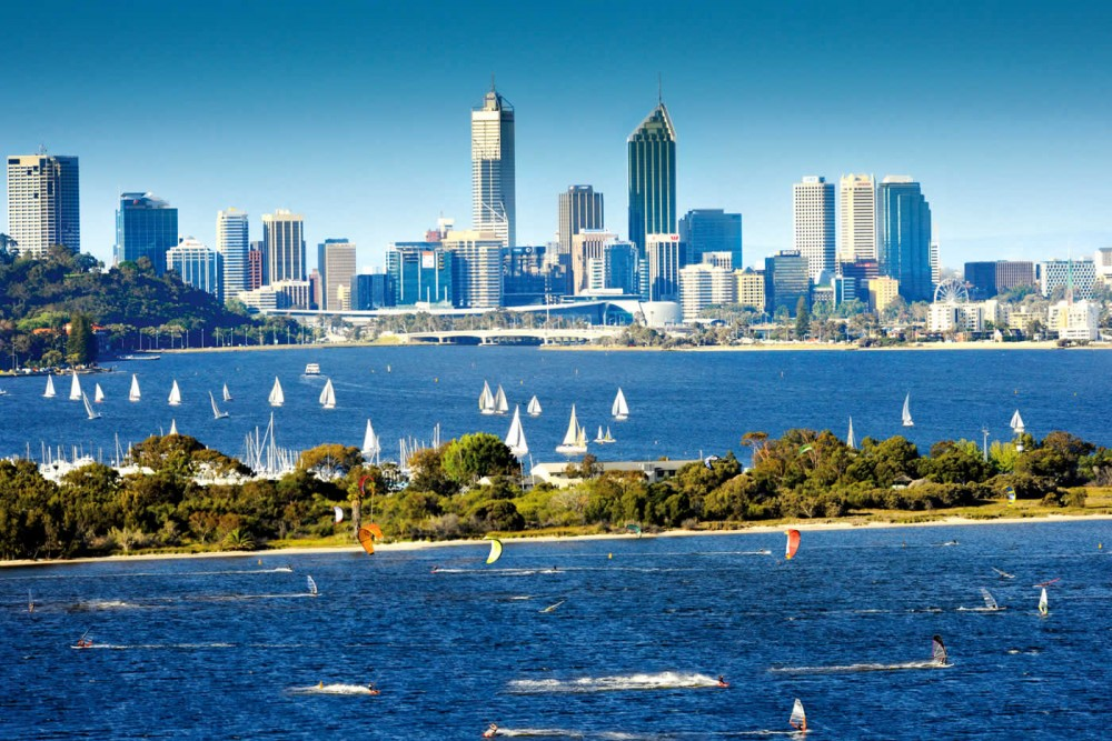 Perth Australia (PER) the western city for sailing fun