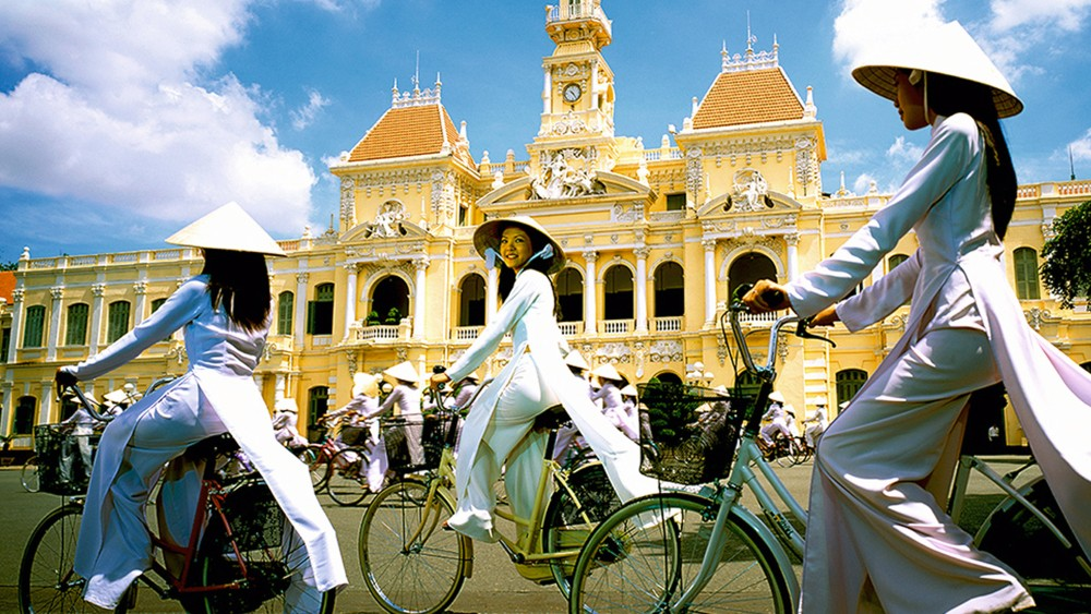 Safe and stunning Saigon / Ho Chi Minh City Vietnam