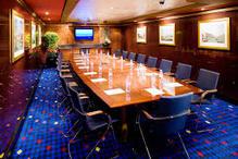 Classroom board room cruise ship