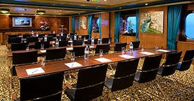 Classroom mtg room cruise ship