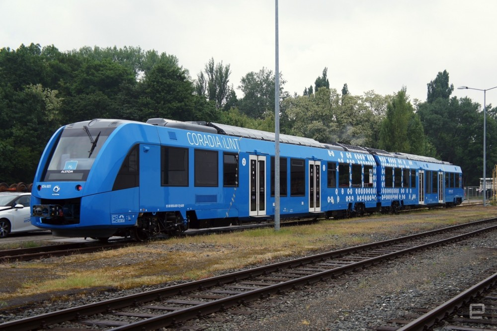 Visit the first hydro train in the world.